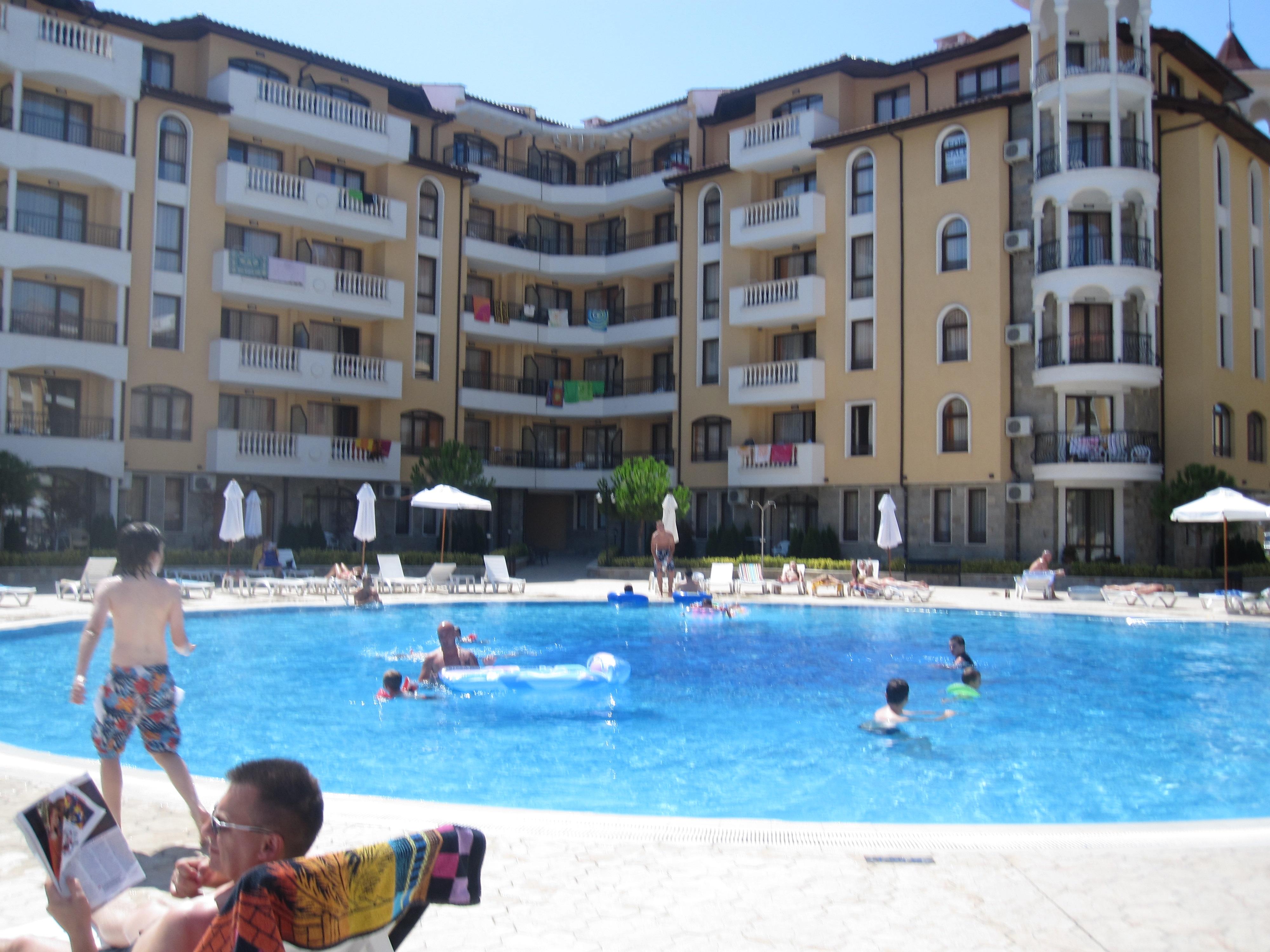 Zon in Sunnybeach, Bulgarije