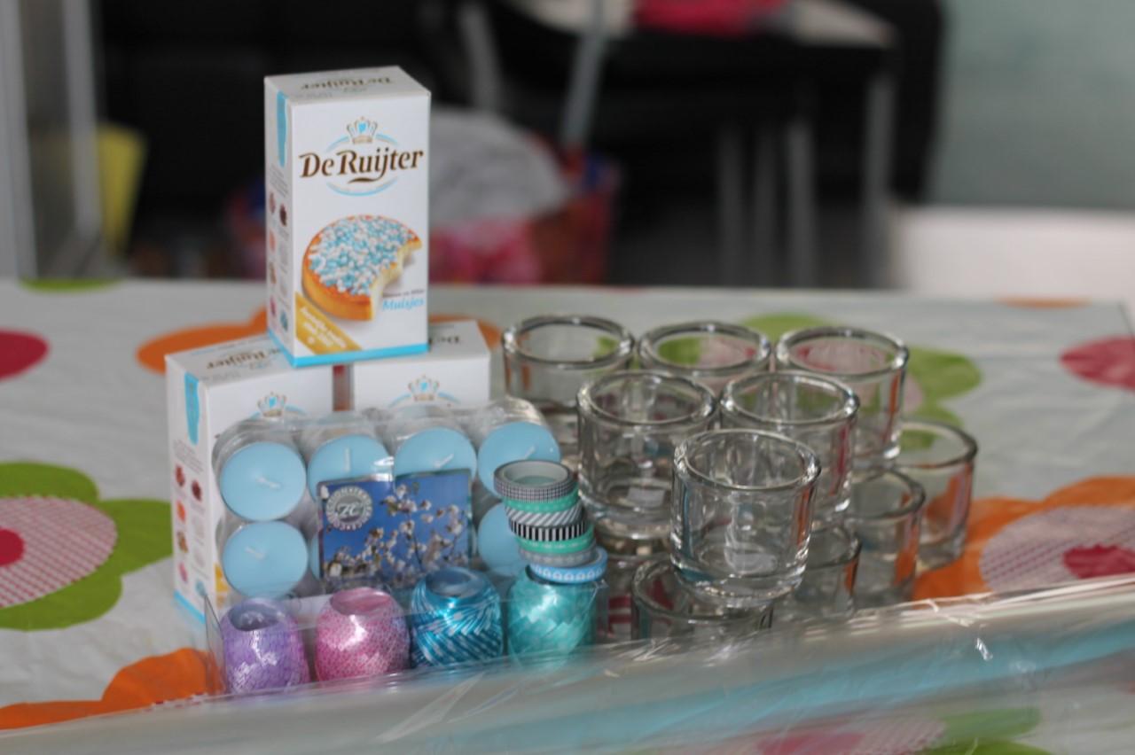 Babyshower bedankjes, super simpel zelf te maken