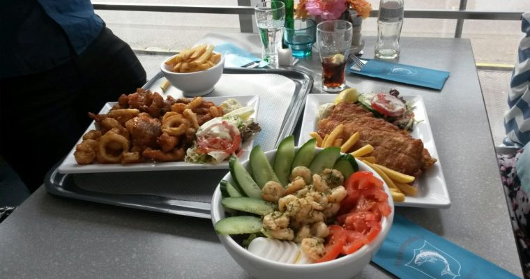 Een visje eten bij Havenpaleis in Scheveningen