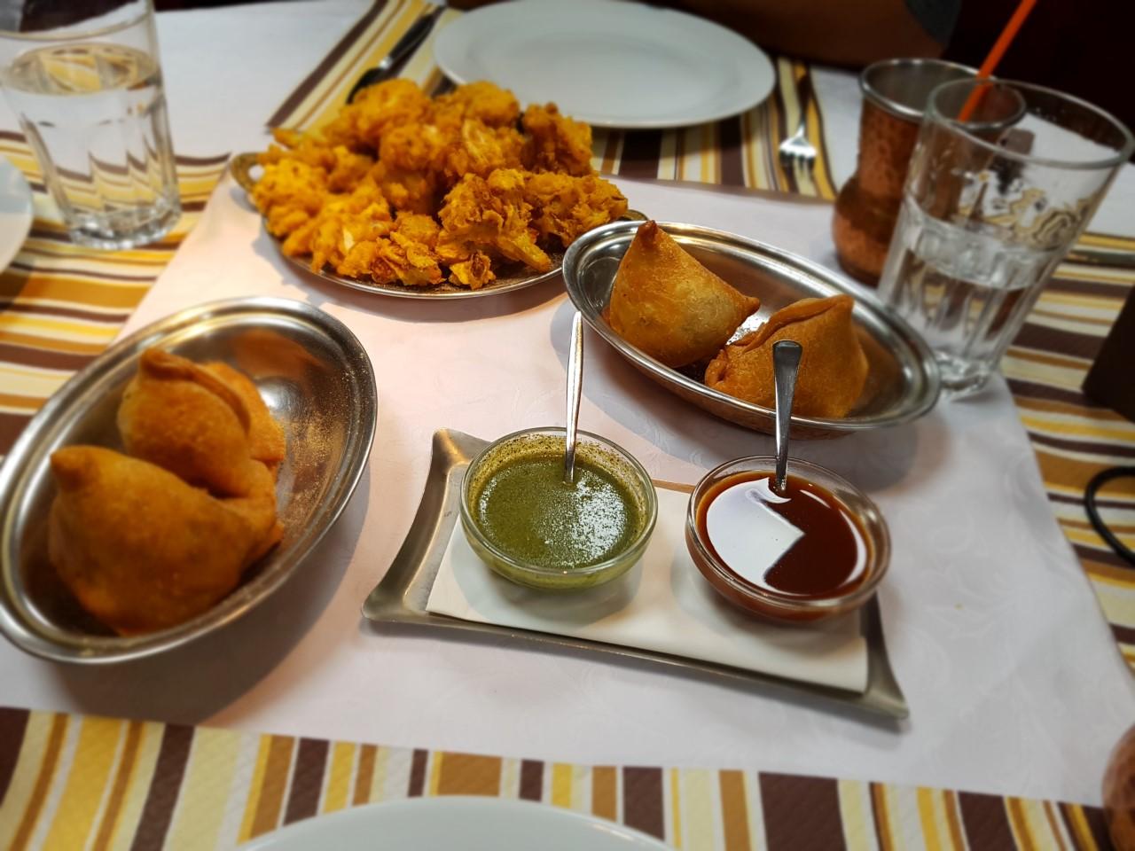 Indiaas restaurant Taj Mahal; uit eten in Ljubljana