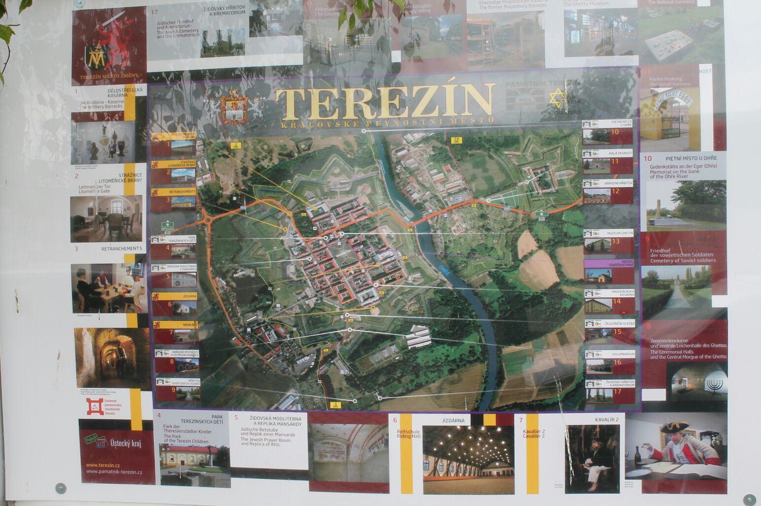 Terezín, waar oorlogsgeweld werkelijkheid was