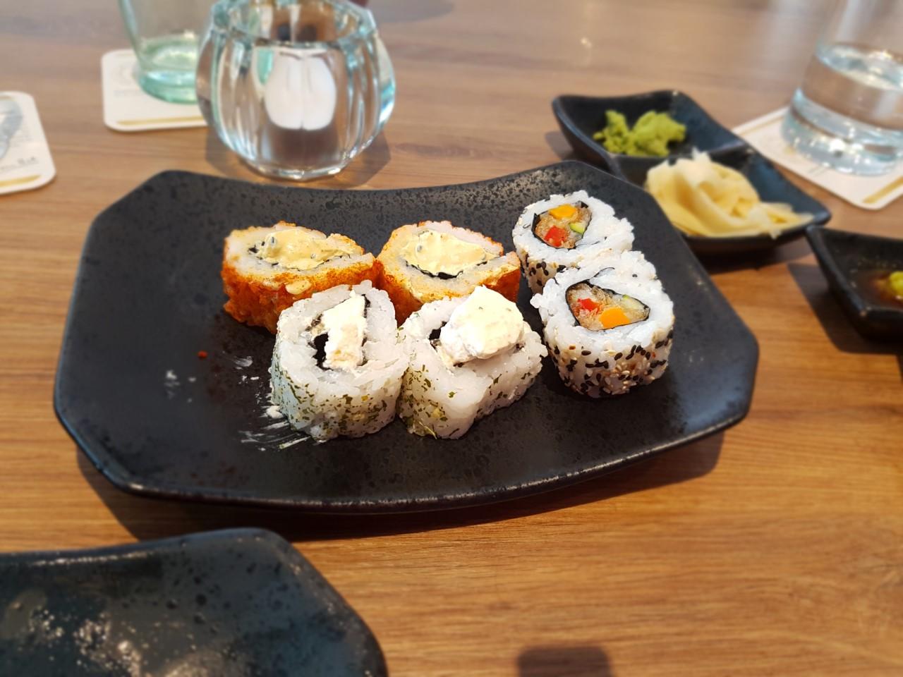 Sushi eten in Trier