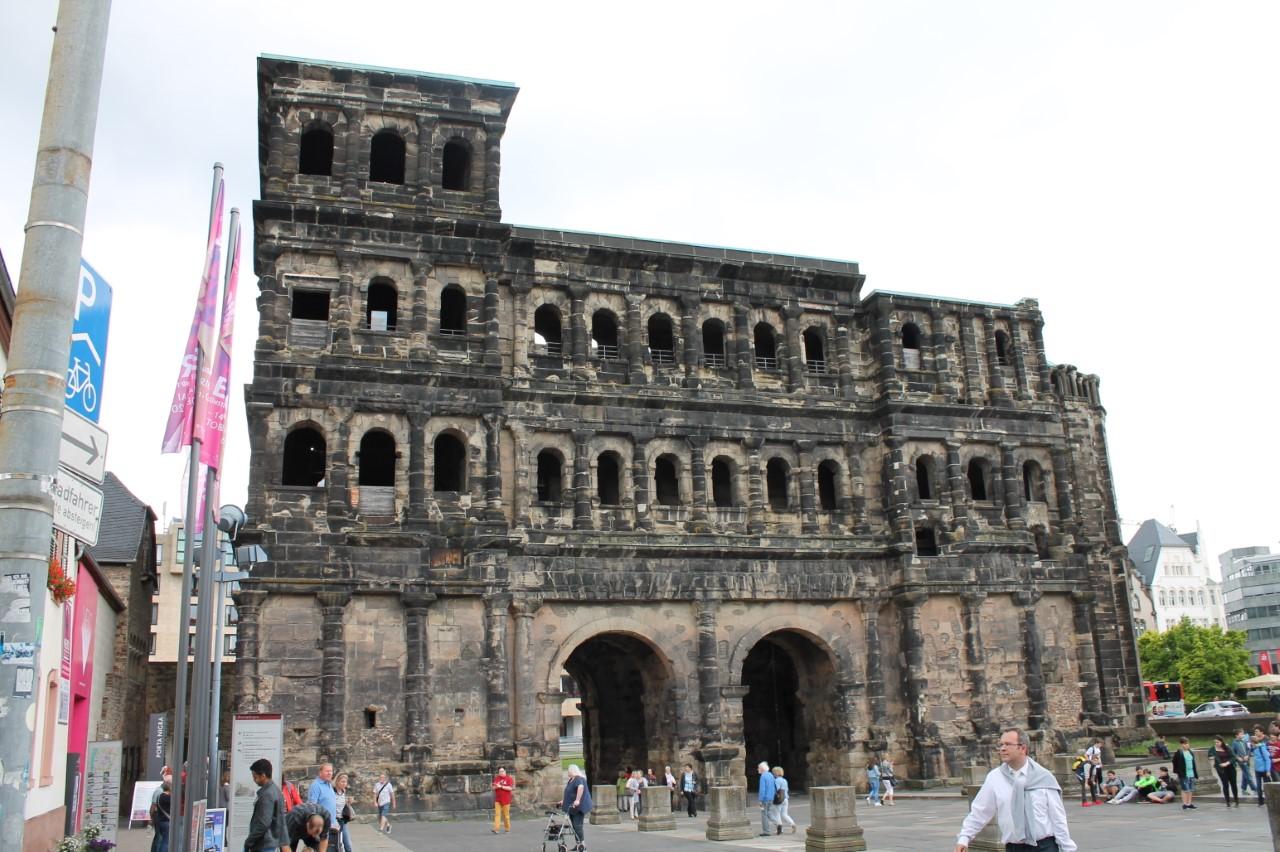De porta nigra in Trier
