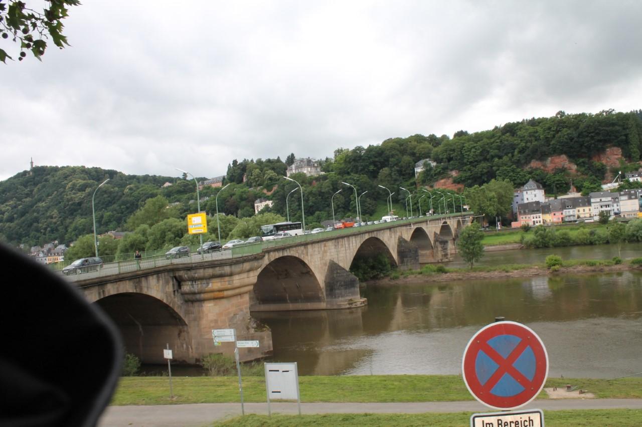 De Römerbrücke in Trier