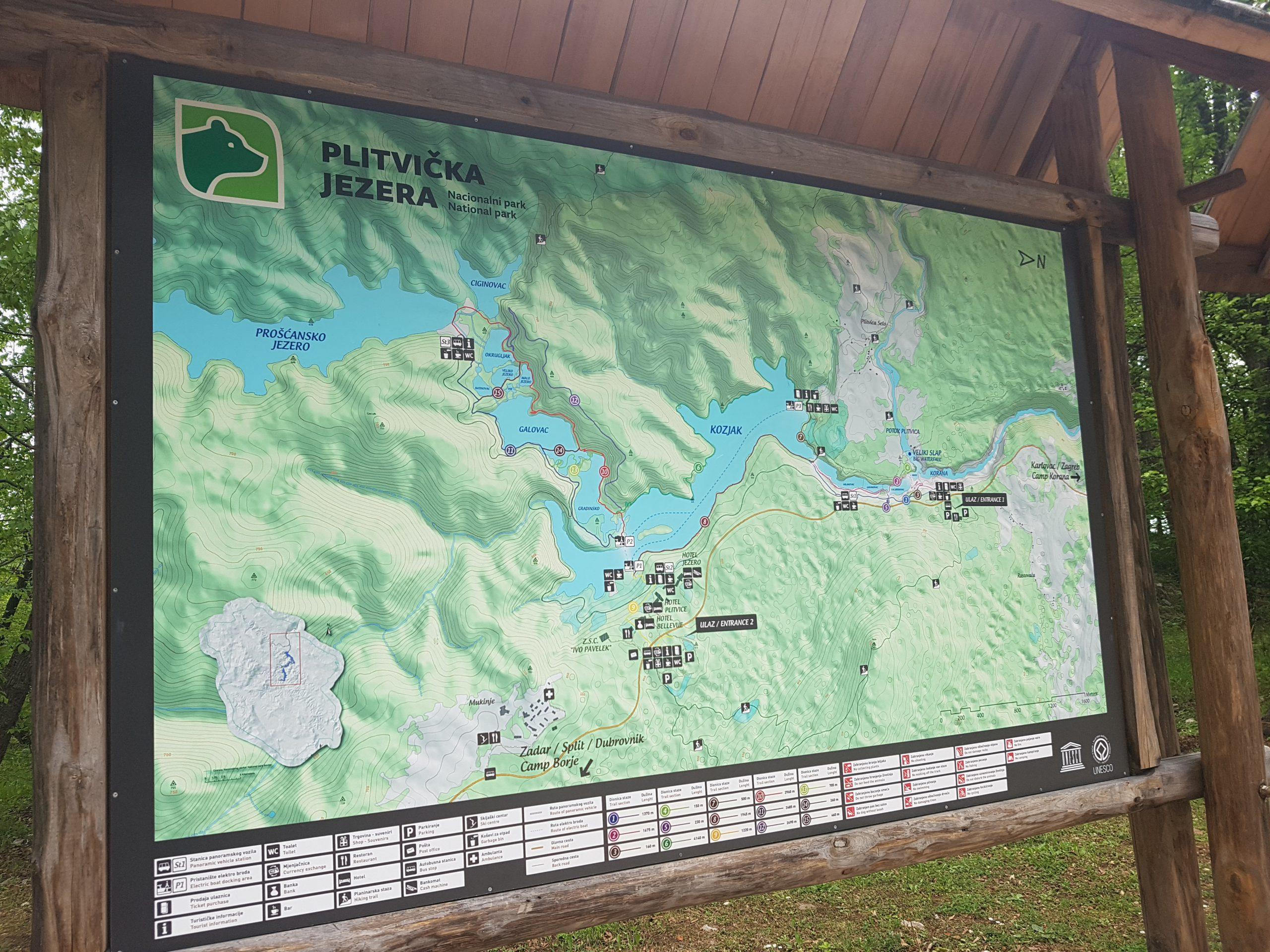 Plitvicka Jezera mag niet ontbreken als je in Kroatië bent