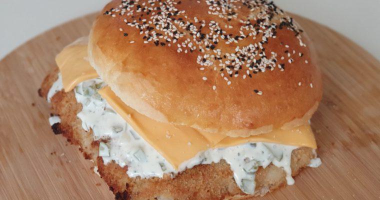 Broodje visburger XL