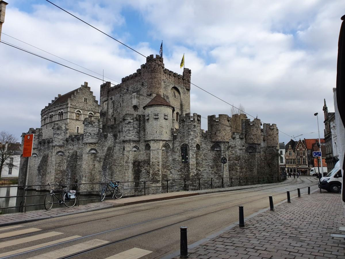 Kasteel Gravensteen in Gent