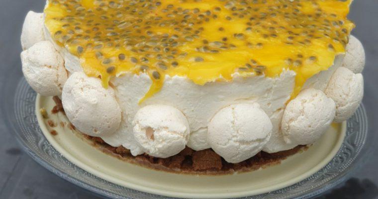 Nobake Cheesecake met Mango & Passievrucht