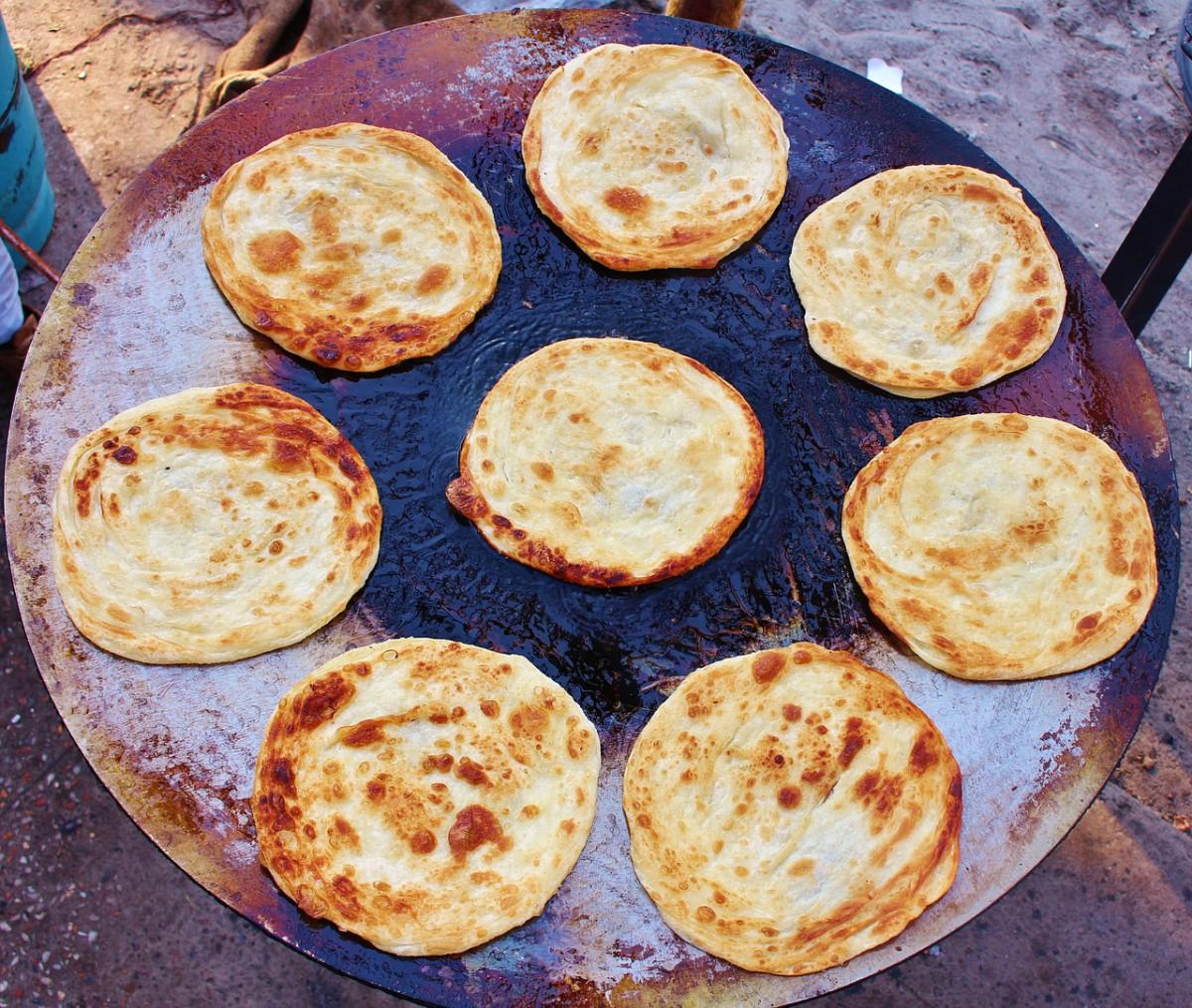recept voor paratha