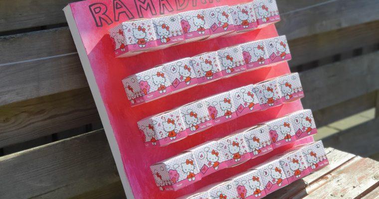 DIY: Maak je eigen Hello Kitty Ramadan kalender