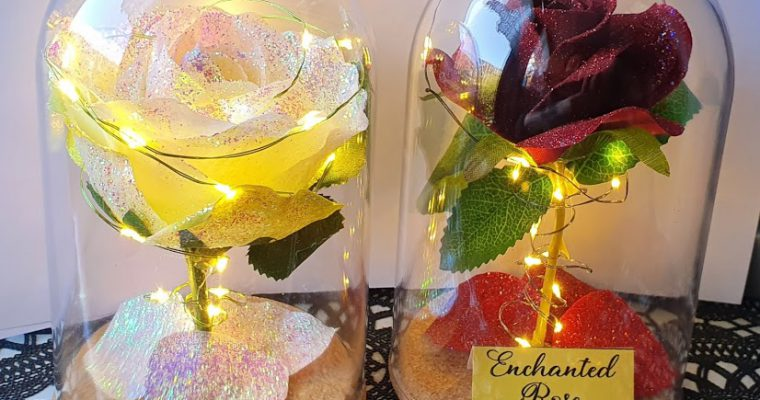 DIY: maak je eigen Enchanted Rose