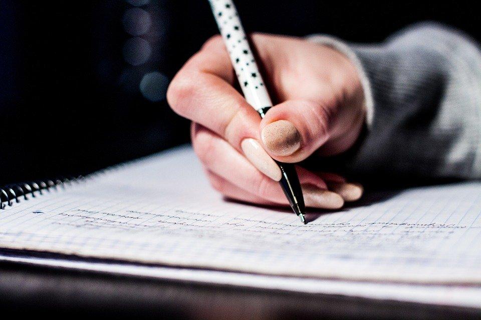 schrijven om positief te blijven