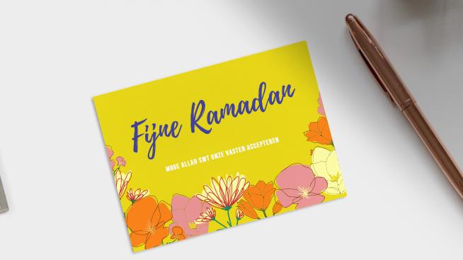 Zelf Ramadan kaarten maken
