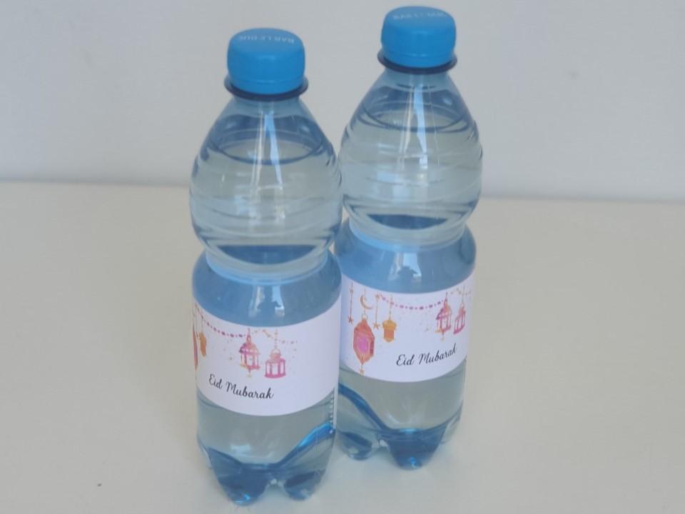 Maak je eigen waterflesjes voor Eid