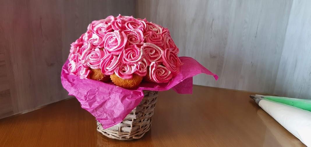 Maak je eigen cupcake boeket