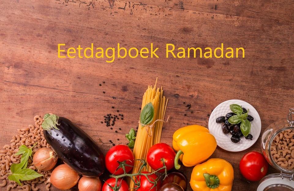 Mijn eetdagboek tijdens de Ramadan