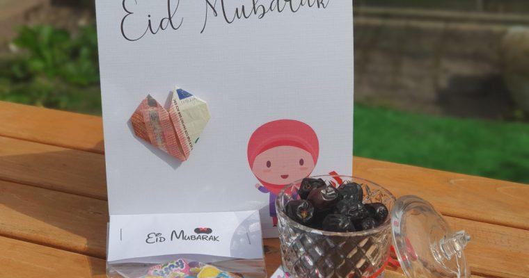 Simpele Eid cadeautjes