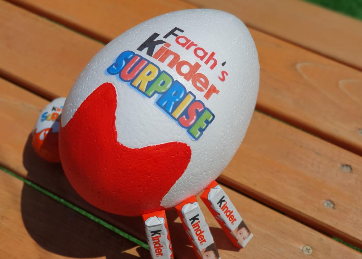 DIY: Zelf een Kinder Surprise ei maken