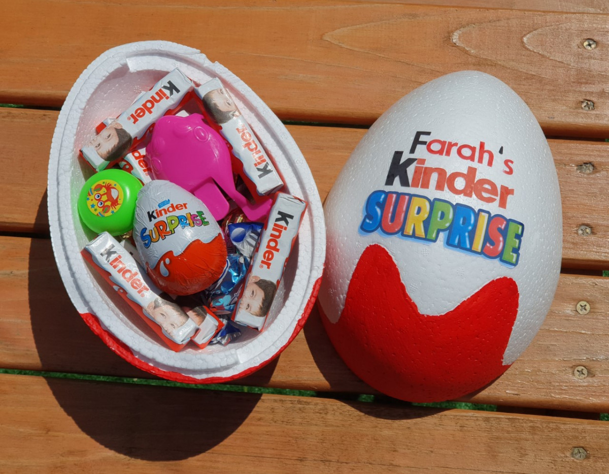Kinder Surprise voor eid