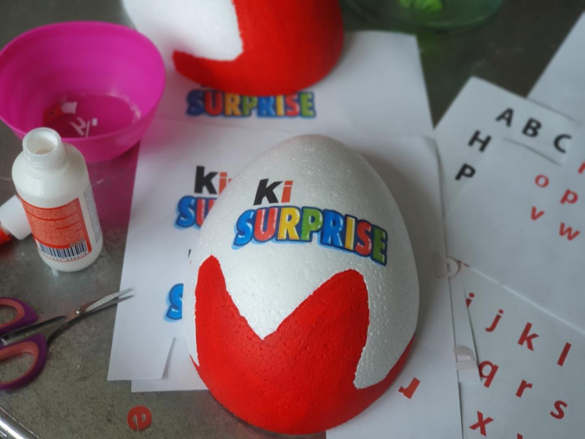 Kinder Surprise ei maken
