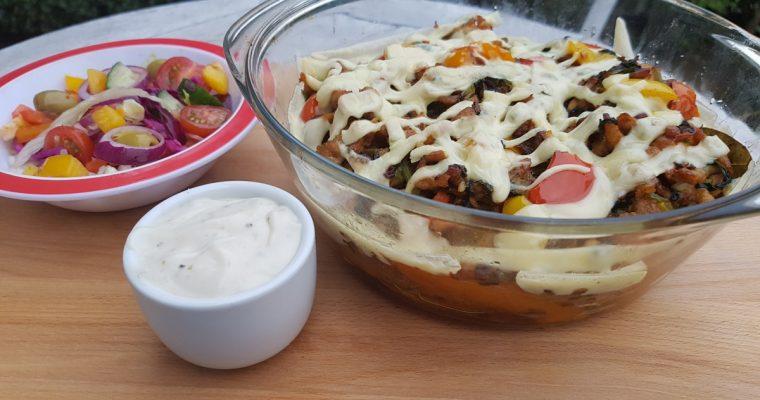 Een gezonde kapsalon met zoete aardappel