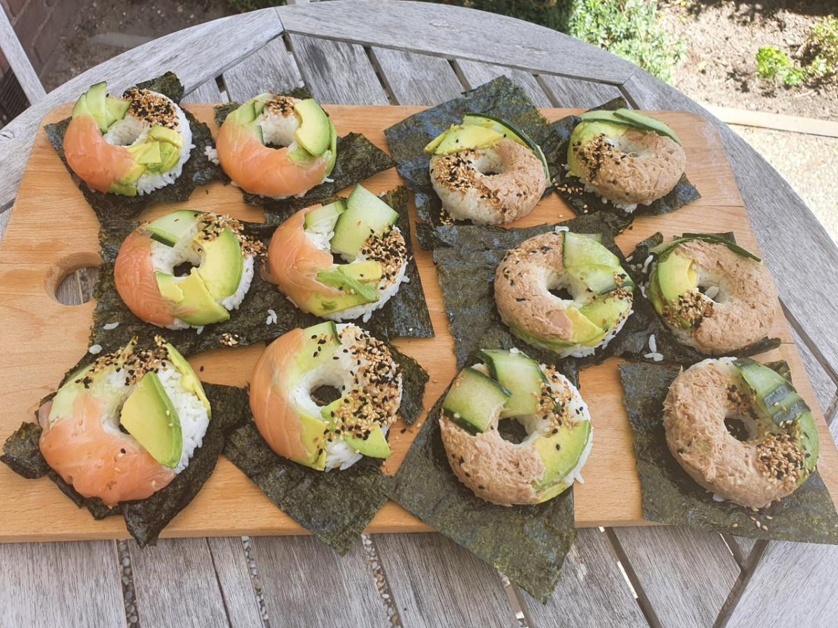 Sushi donuts, heerlijke buitenbeentjes