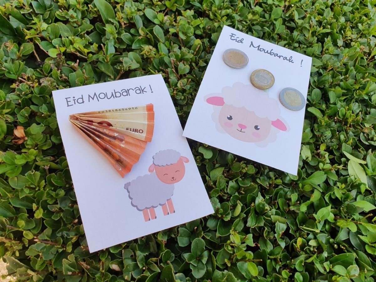 Geldkaarten voor Eid