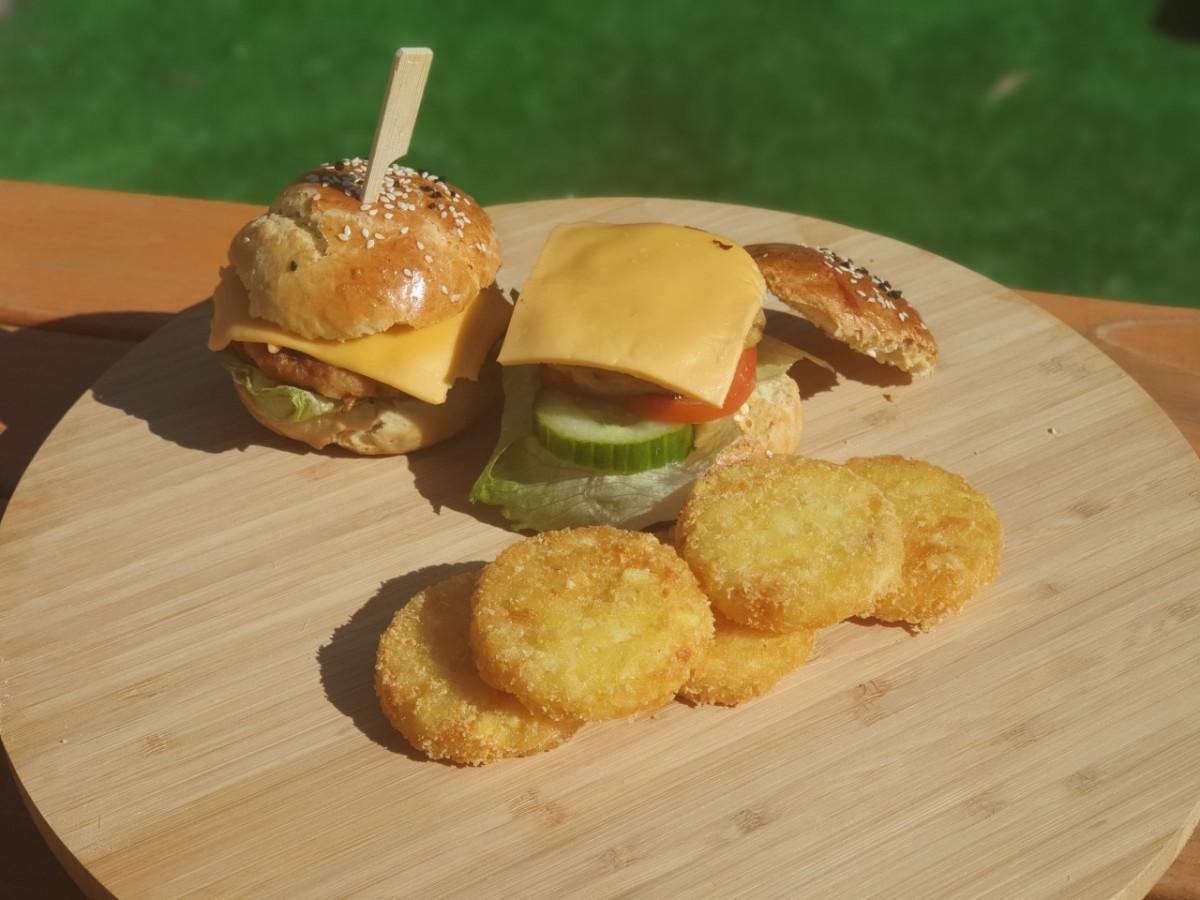 broodjes hamburger, perfect voor een kinderverjaardag