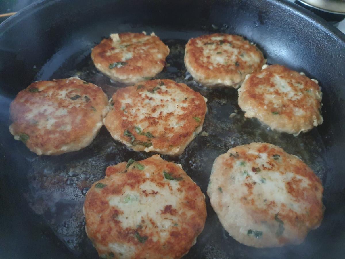 kleine hamburgertjes