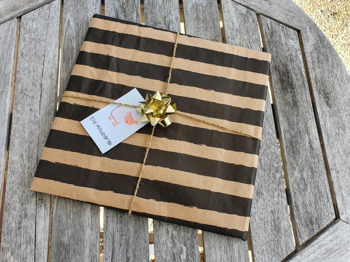 Eid al adha cadeau labels, om je cadeautje nog feestelijker te maken