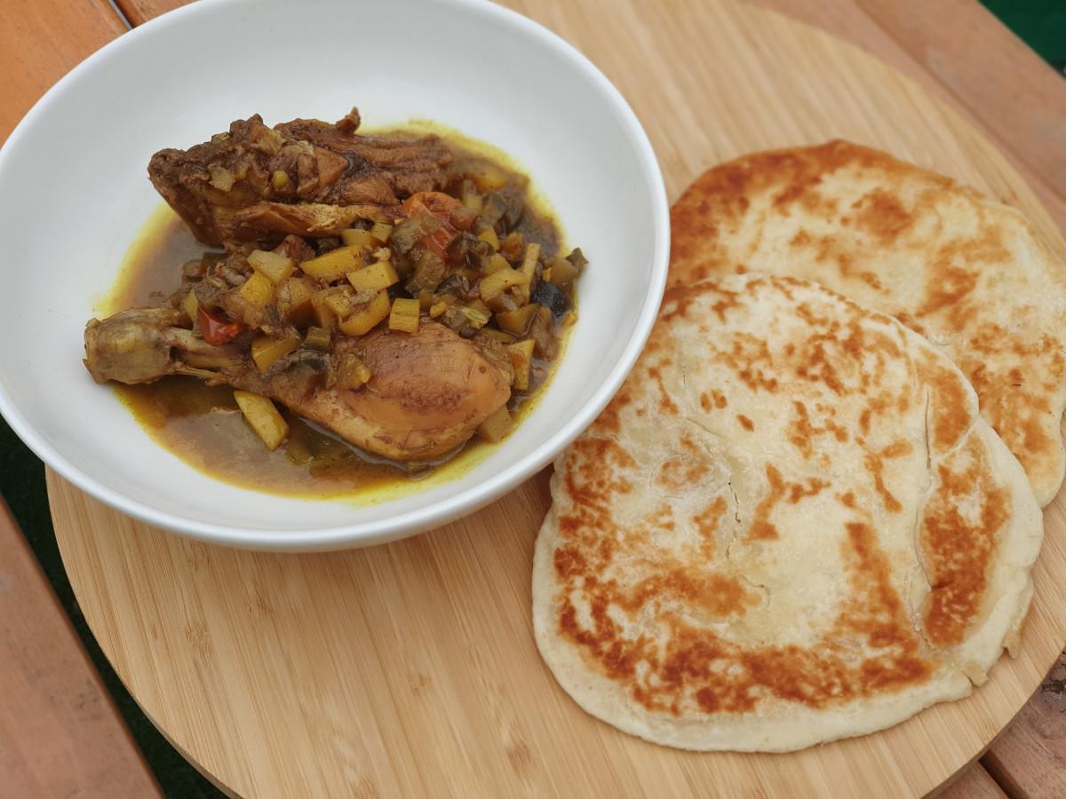 Paratha, een soort roti