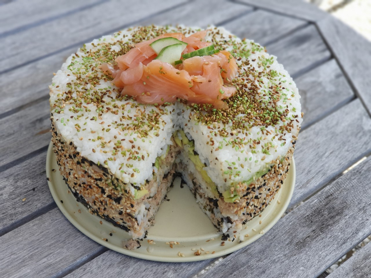 Recept van sushi