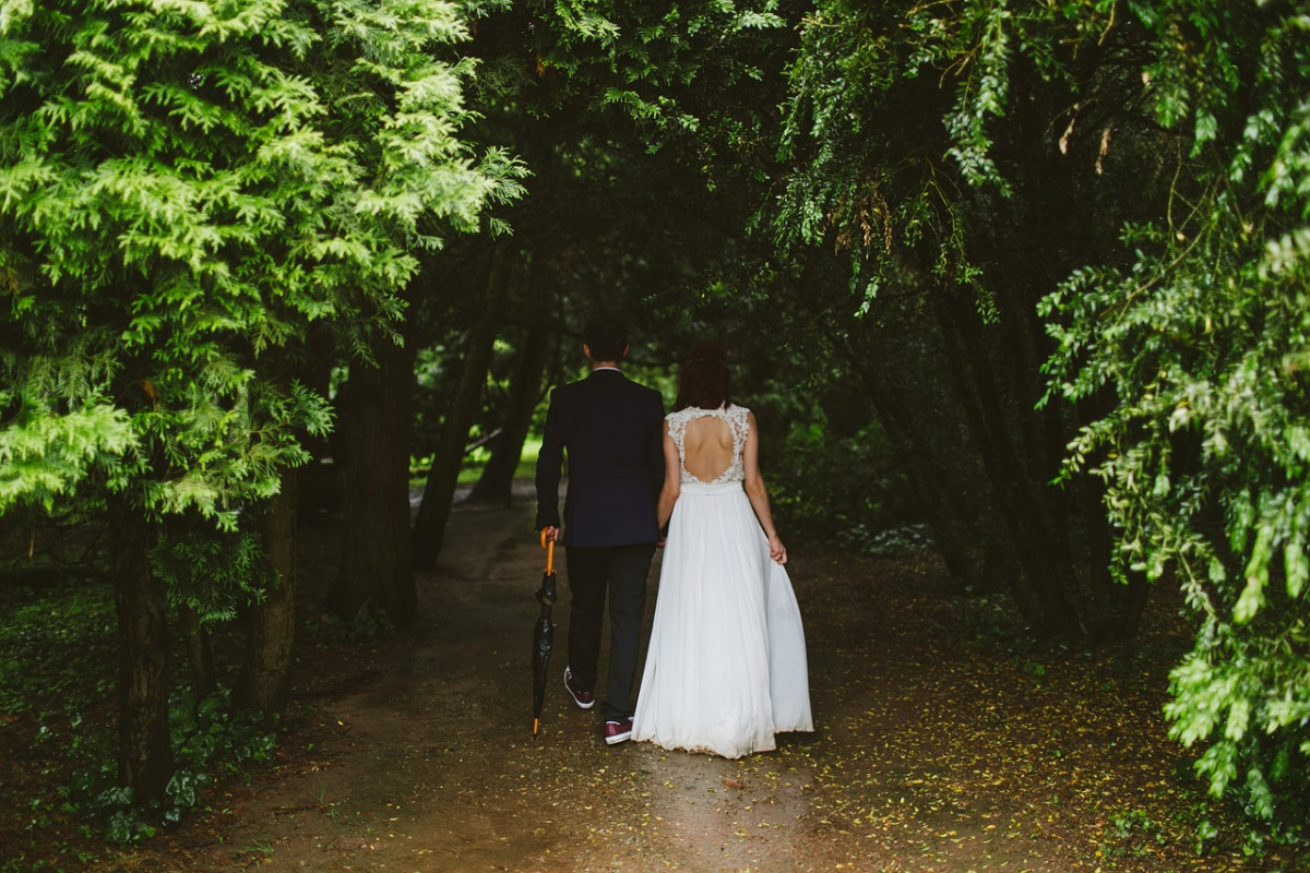 Bruiloft in de zomer