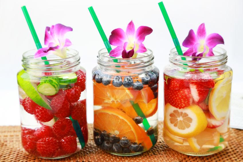 Fruitwater, perfect voor een detox