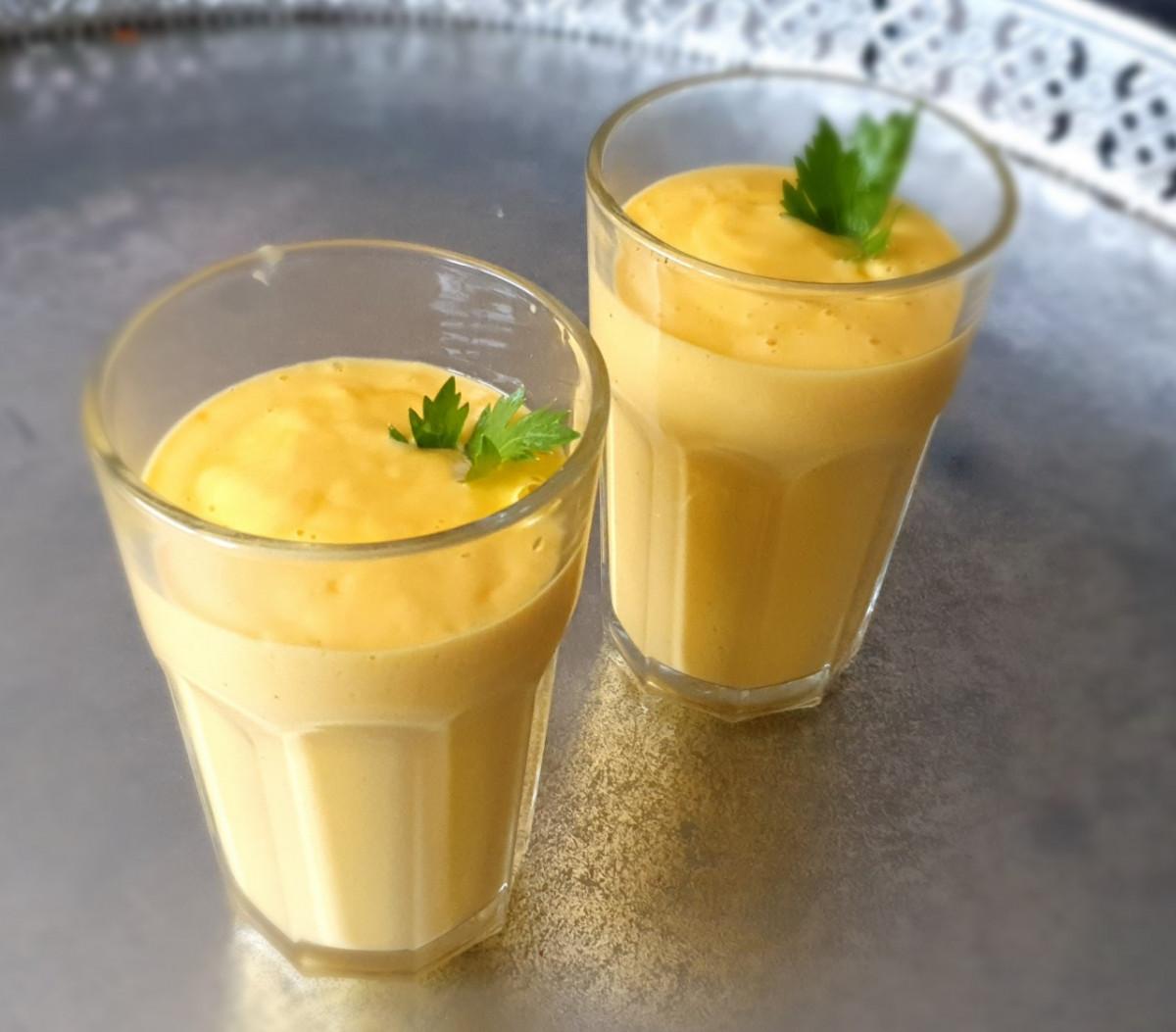 Mango lassi, een heerlijk zomers drankje