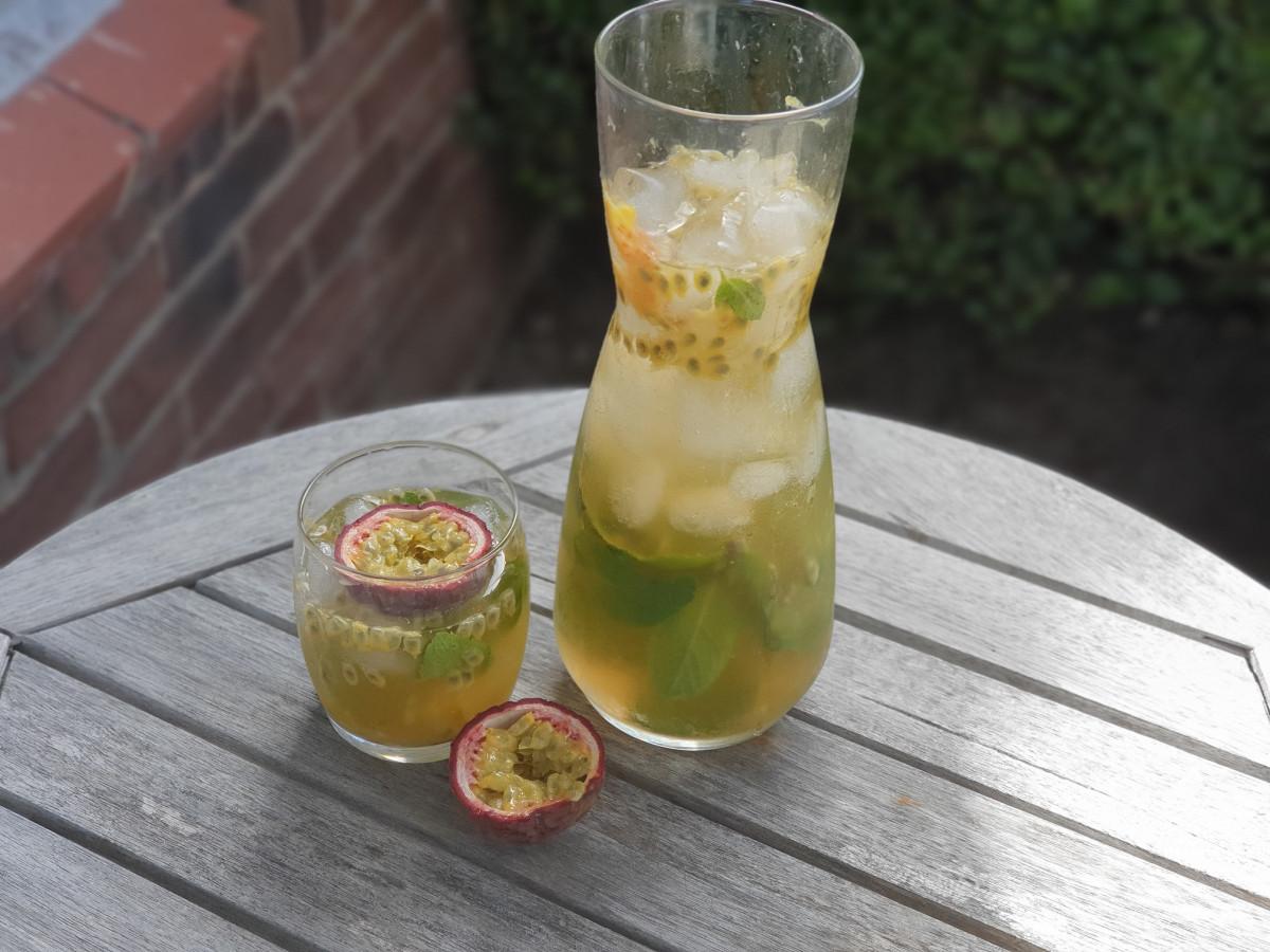 Passievrucht limonade, een heerlijk zomers drankje