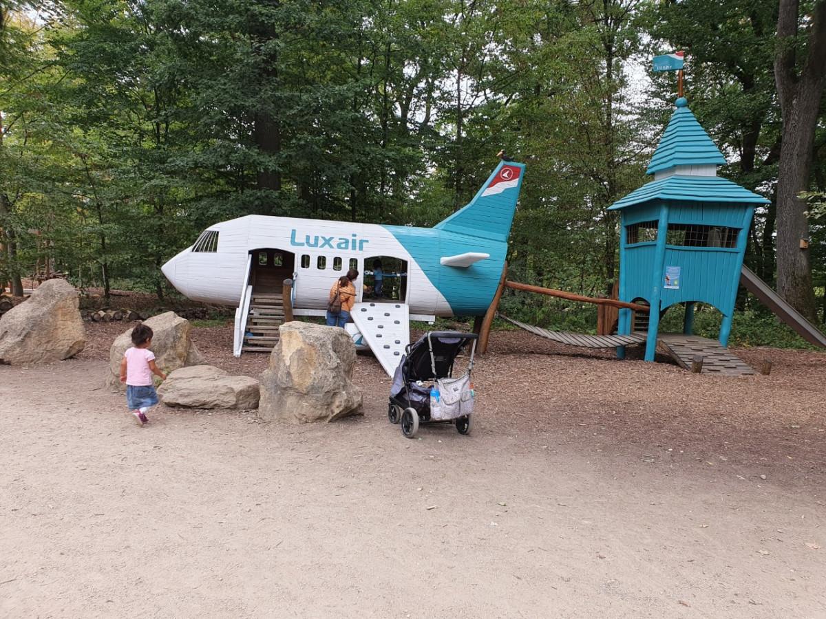 Parc merveilleux met kinderen