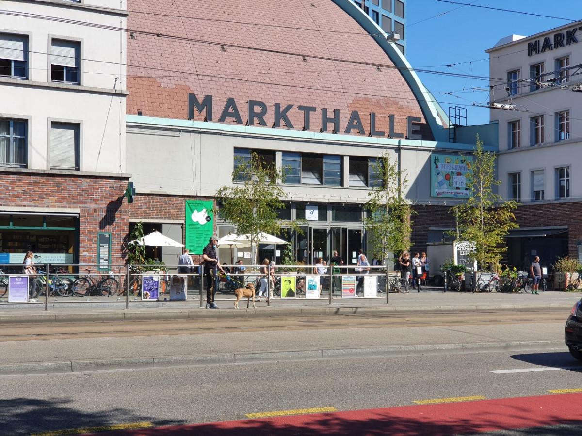 Markthal in Basel