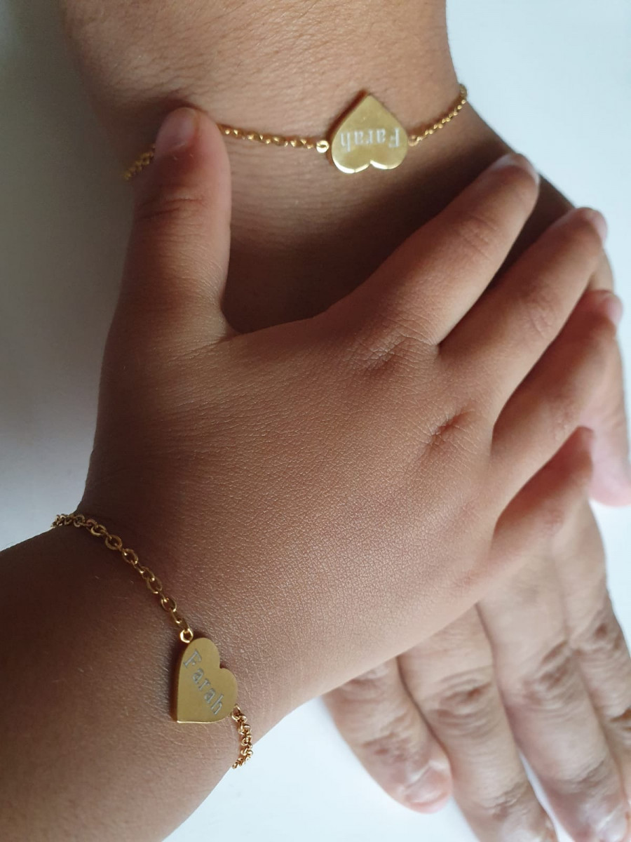 moeder en dochter sieraden