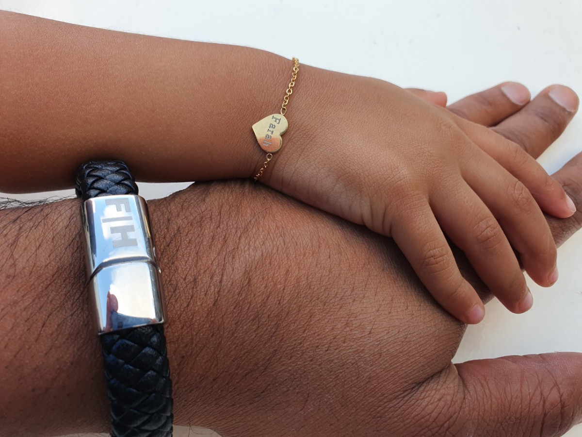 Vader en dochter sieraden