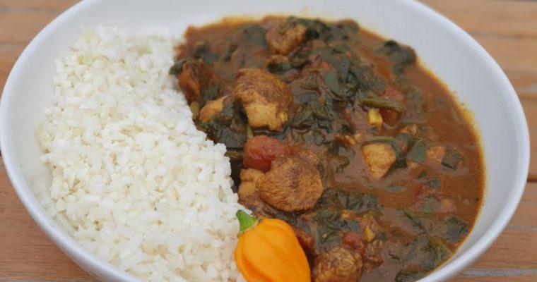 Een heerlijk curry recept die lowcarb is