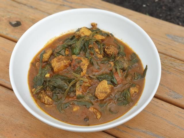 koolhydraatarme curry recept