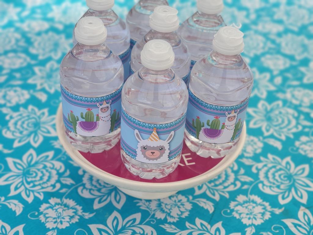 gepersonaliseerde waterflesjes