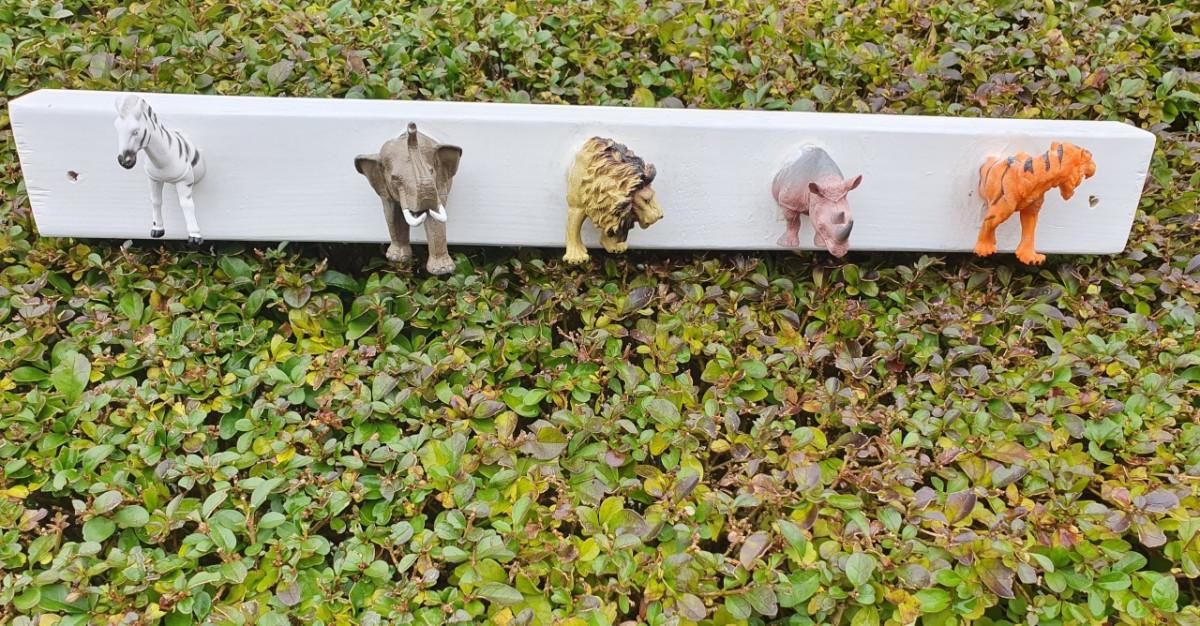 Kapstokhaakjes van dieren, een makkelijke DIY blog
