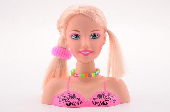 Haar en make-up styling hoofd