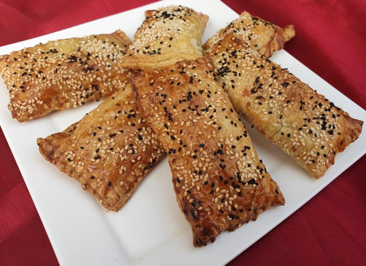 vegetarische worstenbroodjes
