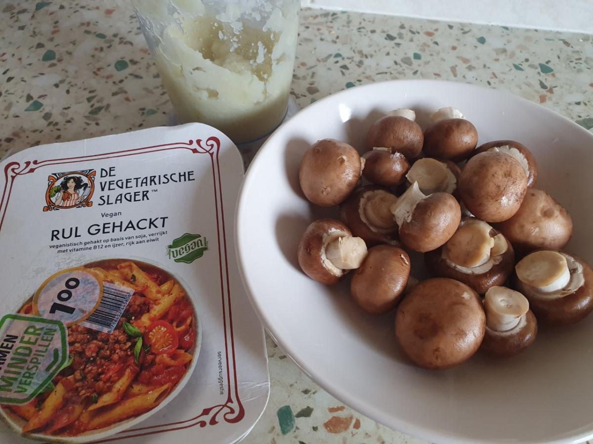 groente saucijzenbroodjes recept