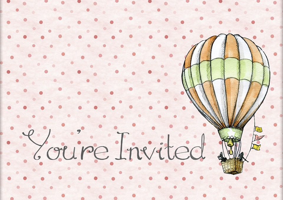 Een uitnodiging maken voor een kinderfeestje