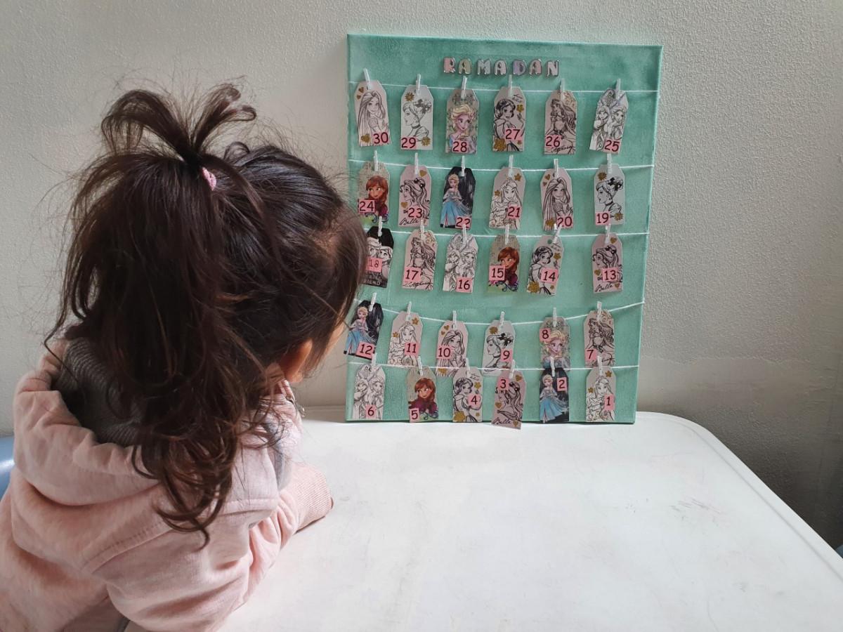 Een prinsessen Ramadan kalender maken