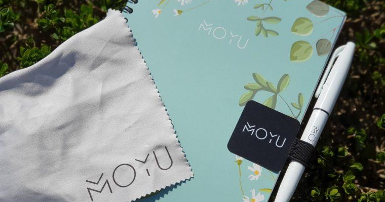 Een uitwisbaar notitieboek van Moyu + andere goodies